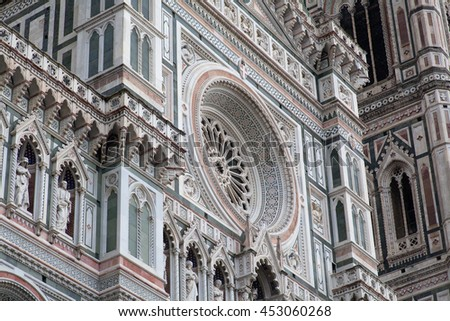 Santa Maria del Fiore close up, Florence, Italy #453060268