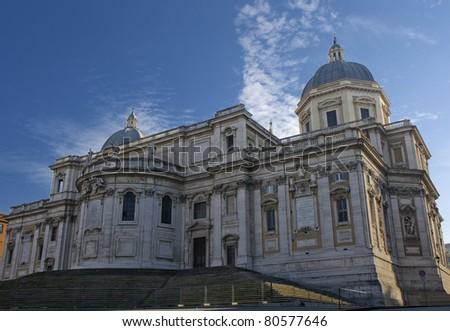 Santa Maria Maggiore Basilica in Roma