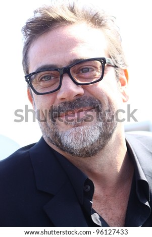 SANTA MONICA CA - FEBRUARY 25: Actor Jeffery Dean Morgan attends the Independent Spirit Awards held at the beach in Santa Monica, CA February 25, 2012