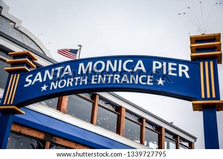 Santa Monica Pier #1339727795