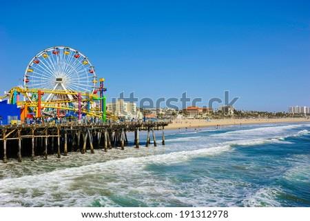 Santa Monica Pier #191312978