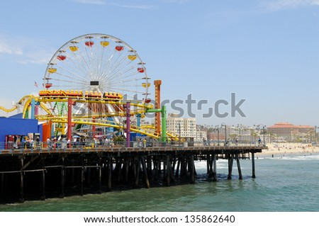 Santa Monica Pier Los Angeles