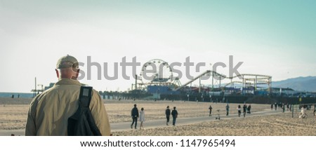 Santa Monica  pier, LosAngeles #1147965494