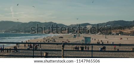 Santa Monica  pier, LosAngeles #1147965506
