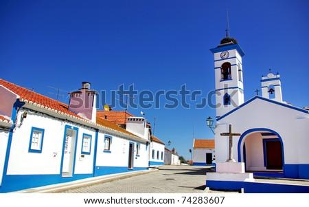 Santa susana village, alentejo region, Portugal.