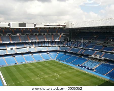 Santiago Bernabeu football stadium of Real Madrid