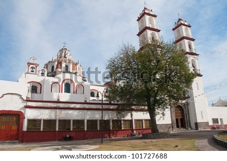 Santo angel Custodio church, Analco (Puebla-Mexico)