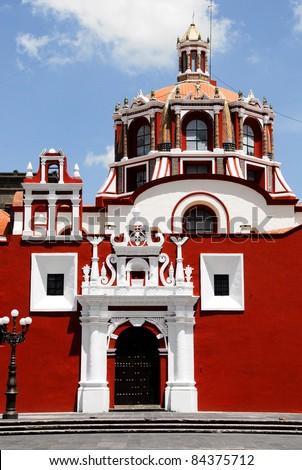 Santo Domingo church, Puebla (Mexico)