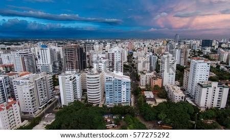 Santo Domingo City Foto stock ©