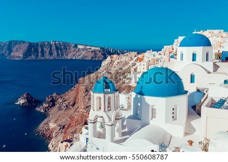 Santorini island,Greece #550608787
