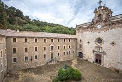 Santuari de Lluc - monastery in Mallorca, Balearic Islands, Spain