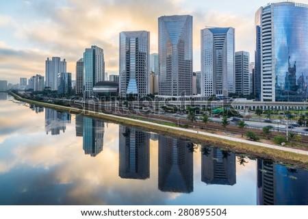 Sao Paulo Skyline - Brazil #280895504