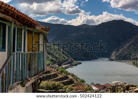 Sao Xisto is a charming location on the Douro River. Located in Vale de Figueira, Sao Joao da Pesqueira Municipality, the village is dominated by a breathtaking landscape. Portugal, douro valley.