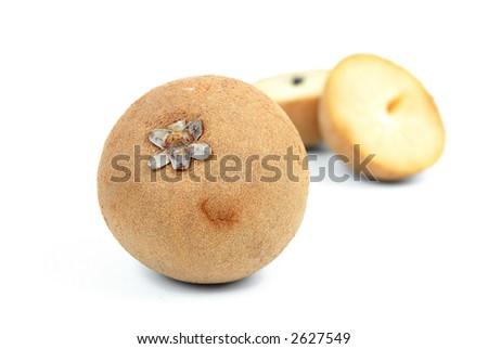 Sapote (sapota, sapoti in portuguese) is a tasty amazon exotic fruit.