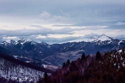 Sar mountains in Kosovo and Metohija