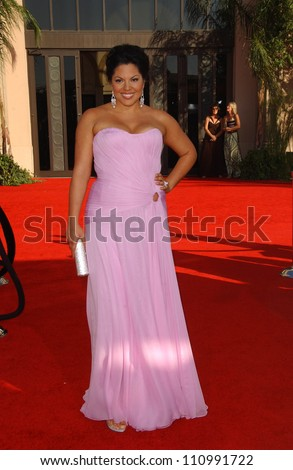 Sara Ramirez  arriving at the 59th Annual Primetime Emmy Awards. The Shrine Auditorium, Los Angeles, CA. 09-16-07