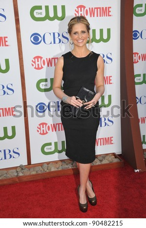Sarah Michelle Gellar, star of Ringer, at the CBS Summer 2011 TCA Party at The Pagoda, Beverly Hills. August 3, 2011  Los Angeles, CA Picture: Paul Smith / Featureflash