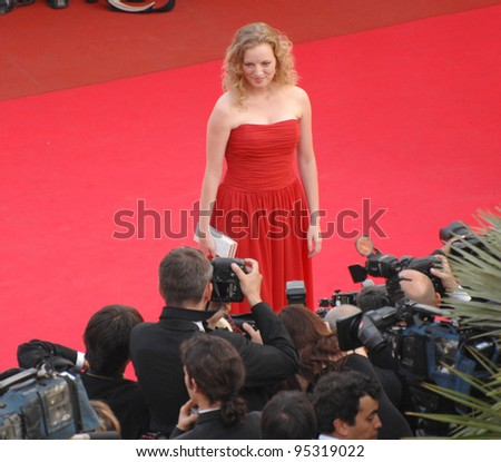 """Sarah Polley at screening for """"Le Schaphandre et le Papillon"""" at the 60th Annual International Film Festival de Cannes. May 22, 2007  Cannes, France.  2007 Paul Smith / Featureflash"""