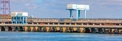 Saratovskaya HPP (Leninsky Komsomol) - a hydroelectric power station on the Volga River in the Saratov region, in the town of Balakovo.