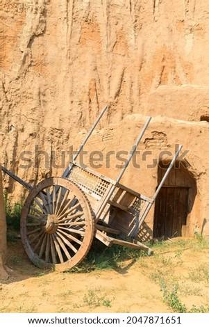 Saray Batu - the capital of the Golden Horde, reconstruction, Astrakhan region Stock fotó ©