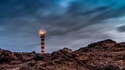 Sardina lighthouse, in Gran Canaria island