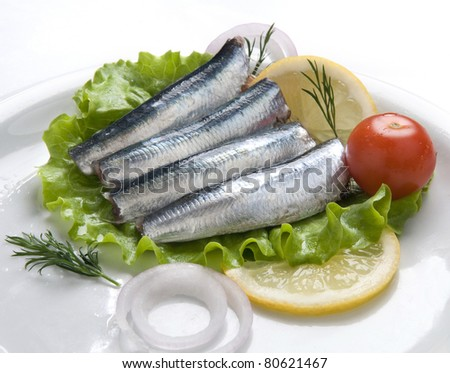sardines dish vegetables