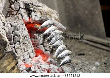 Sardines from Malaga Spain