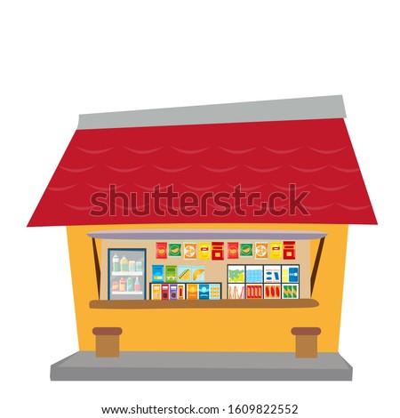 Sari Sari Store With Goods Zdjęcia stock ©
