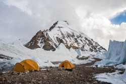 Saribung base camp, Mustang, Nepal