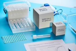 SARS-COV-2 pcr diagnostics kit. This is RT-PCR kit to detect presence of 2019-nCoV virus causing Covid-19 disease presence in clinical specimens. Test system is based on real-time PCR technology.