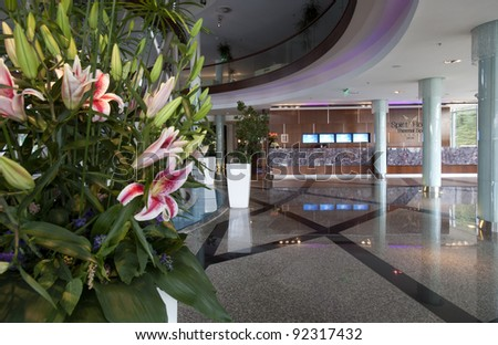 SARVAR – 09. JUNE: The Spirit Hotel Thermal Spa awarded by Agency of Health and Wellness (Vienna) in the Best Destination Spa category as Europe\'s Best Spa Hotel 2010, on June 9. 2010, Sarvar Hungary.