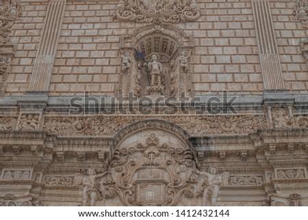 Sassari Cathedral (Duomo di Sassar, Cattedrale di San Nicola), Sardinia, Italy.  Romanesque (12th century) with Gothic, Renaissance, Baroque and Neoclassical elements. Stock fotó ©
