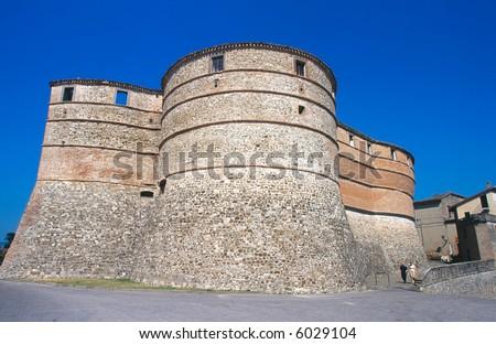 Sassocorvaro (Pesaro e Urbino, Marche, Italy) - The castle.