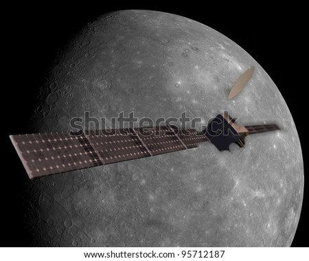 satellite exploring mercury