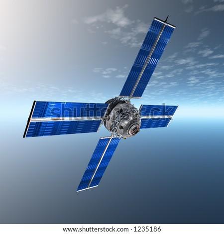 Satellite In Sky