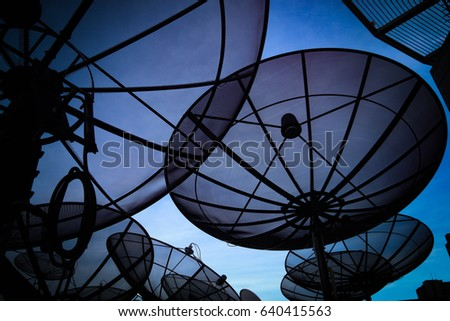 satellite receiver #640415563