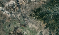 Satellite top view texture over Mexico
