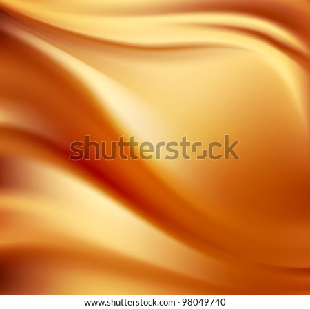 satin gold abstract background