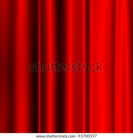satin red fabric as christmas background to insert text or design
