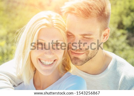 Satisfied girlfriend and boyfriend enjoying romantic moment. Sensual foreplay. Naughty and passionate. Passion dating and love. Young couple in love have fun valentines day. Passionate.