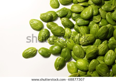 sator vegetable on white background