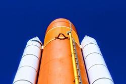 Saturn rocket, Cape Kennedy, Florida