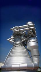 Saturn V engine Kennedy Space Centre Florida