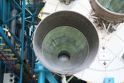 Saturn V rocket engine
