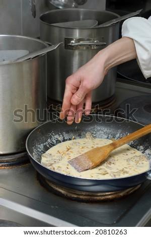 sauce preparation