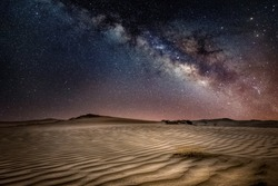 Saudi Arabia Milky Way at desert