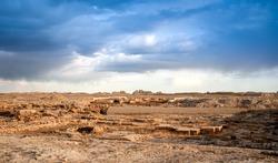Sauran ancient city ruins
