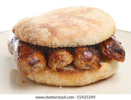 Sausage muffin.