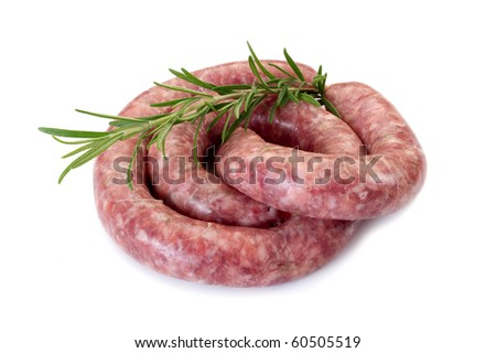 sausage with rosemary