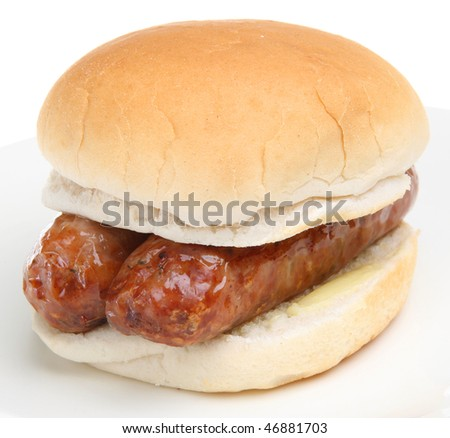 Sausages sandwich